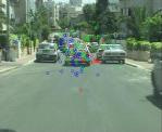Eye scanning patterns - no lead vehicle