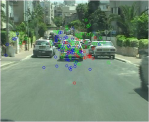 Eye scanning patterns - no lead vehicle