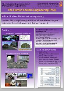 Human Factors Engineering at BGU