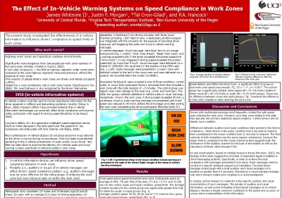 The Effect of In-Vehicle Warning Systems on Speed Compliance in Work Zones