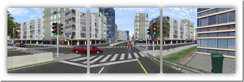 Child pedestrian simulation