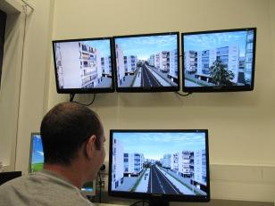 Scenario development and control room for Dome virtual environment